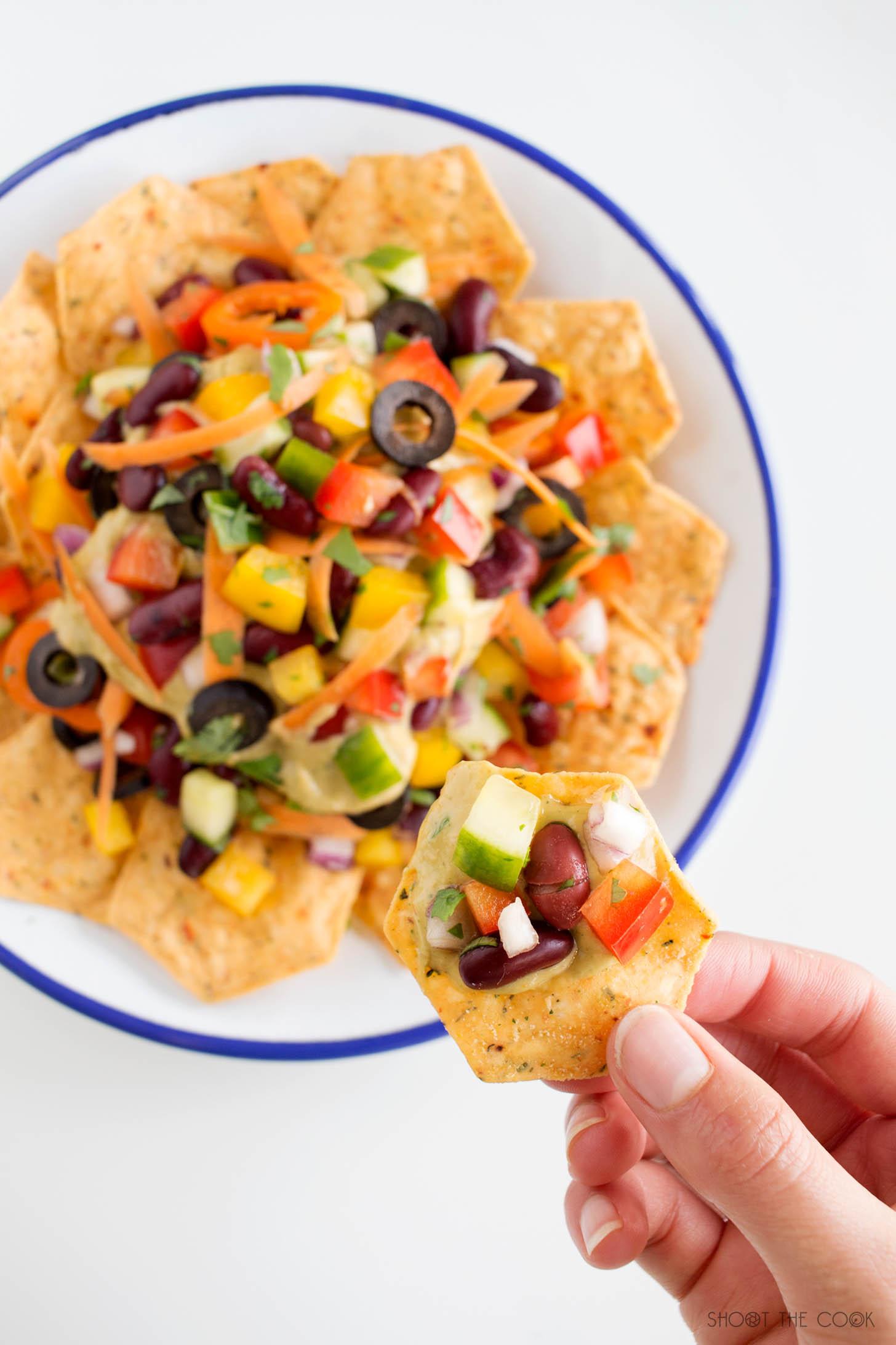 nachos caseros saludables
