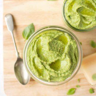 Pesto de Brocoli, receta saludable