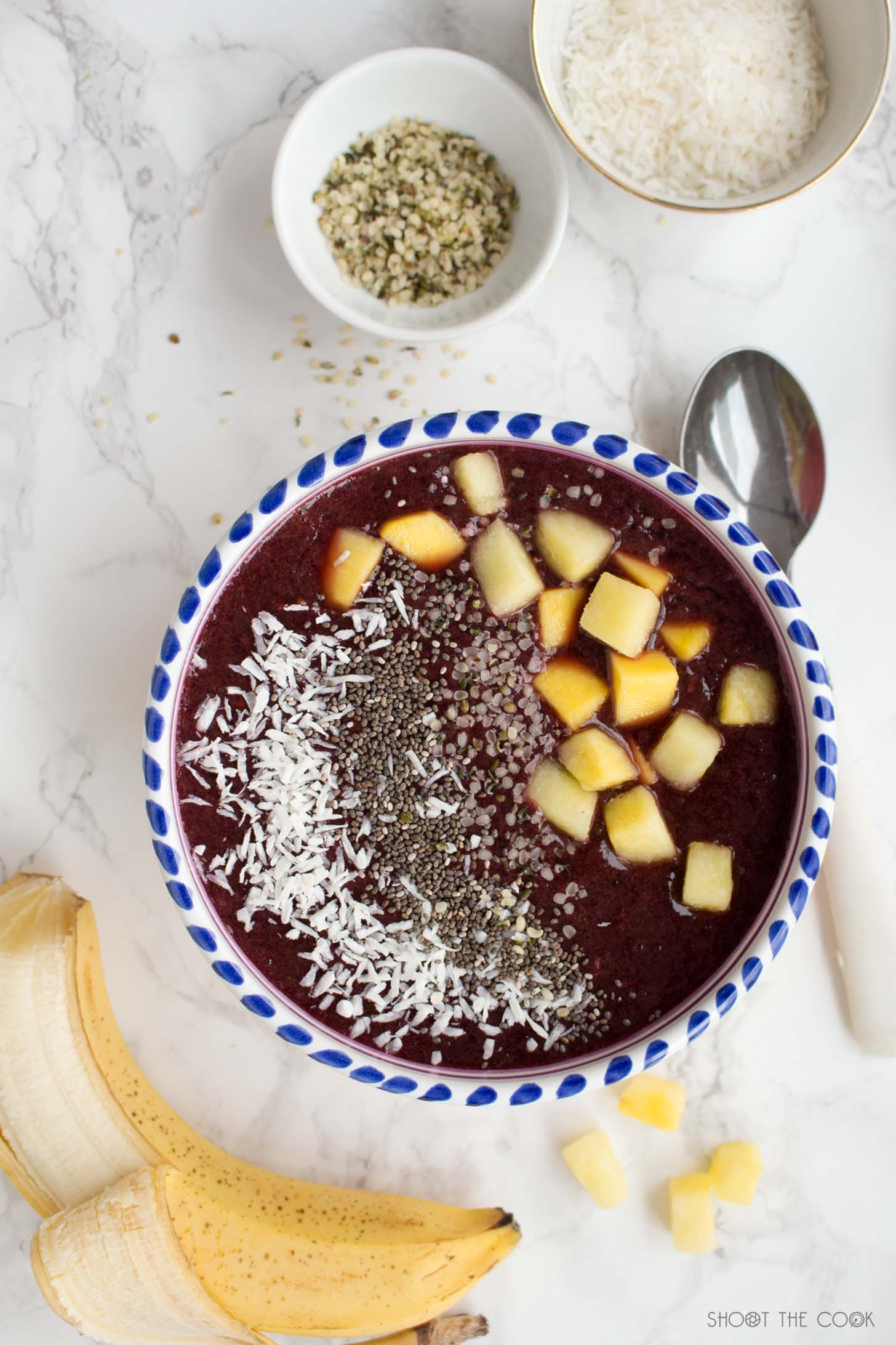 receta smoothie bowl