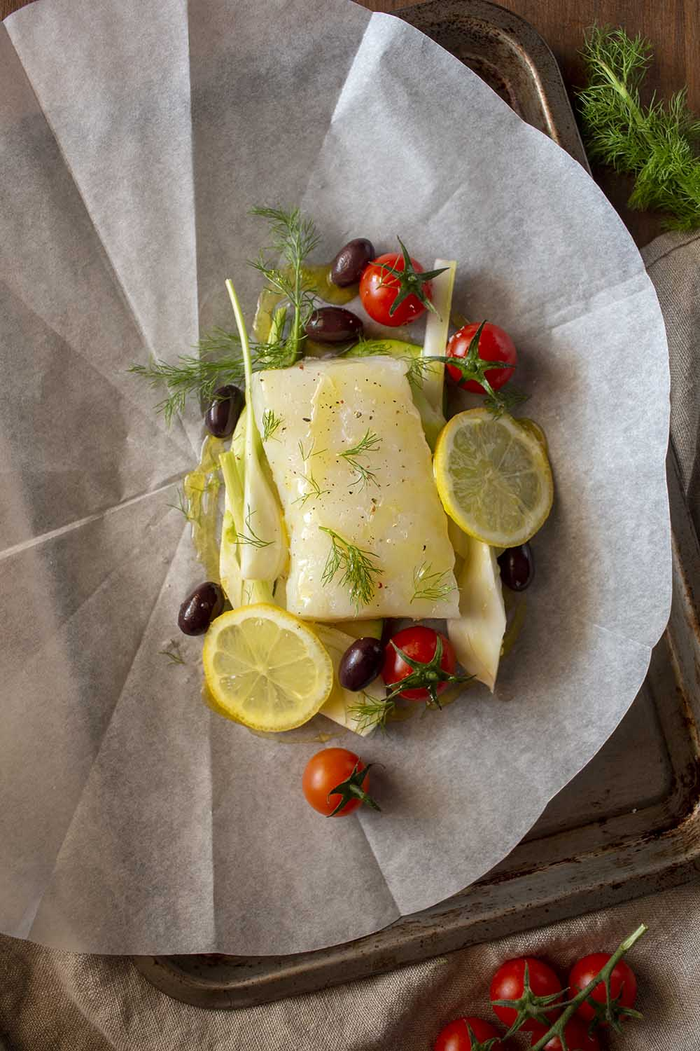 Bacalao Skrei En Papillote Shoot The Cook Recetas