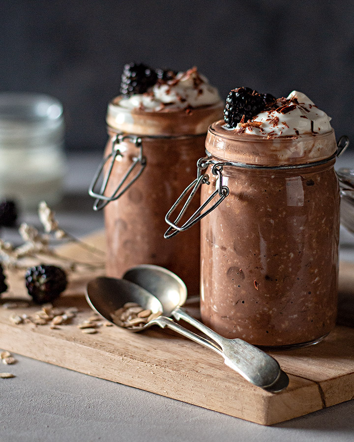 Bircher Muesli de Chocolate