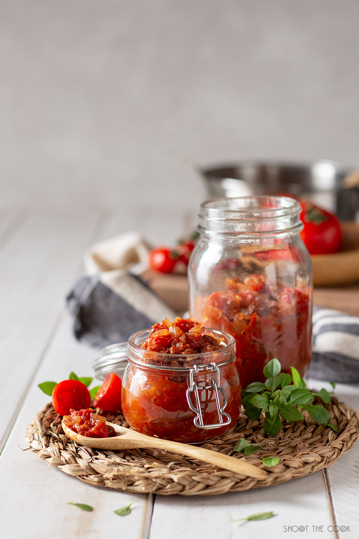 chutney de tomate facil