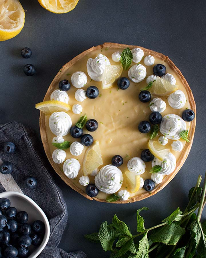 Lemon Pie Receta Ligera