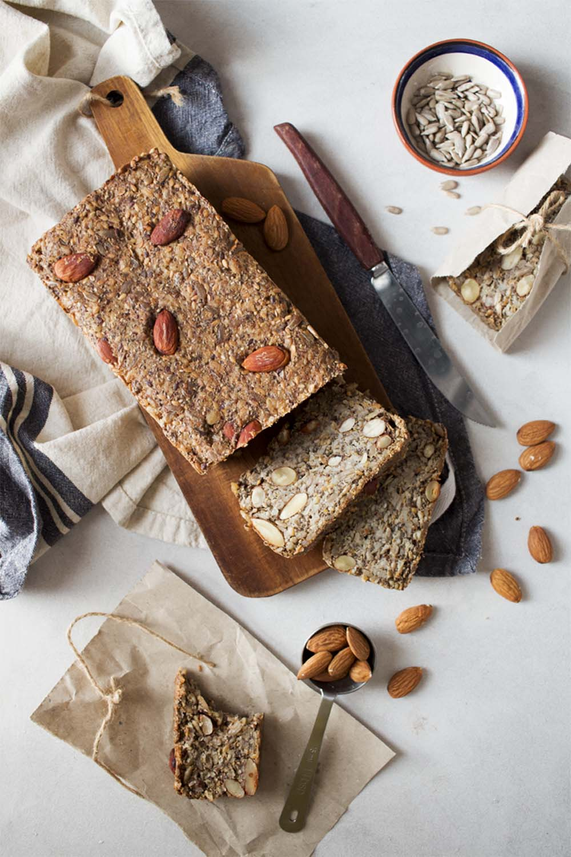 pan de semillas sin harina