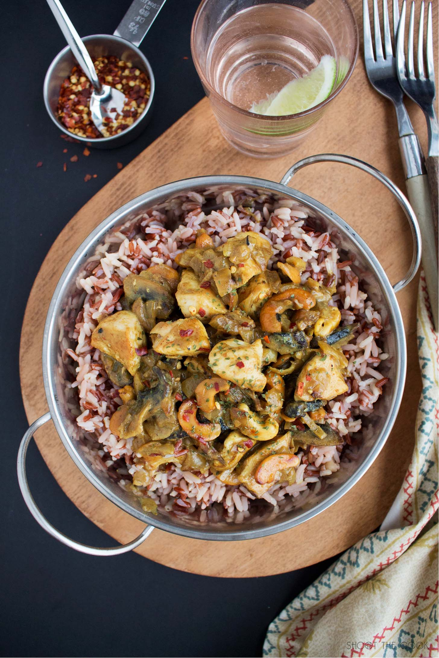 Receta Pollo al curry Rá`pido
