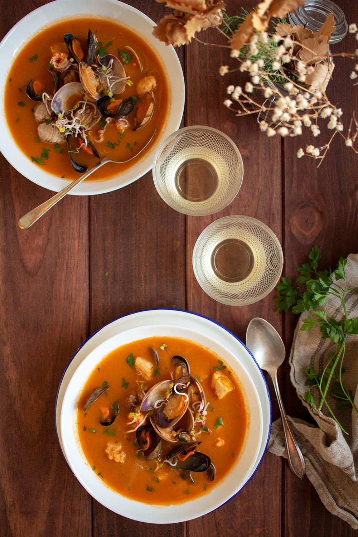 Sopa De Pescado Fácil Y Rápida Shoot The Cook Recetas