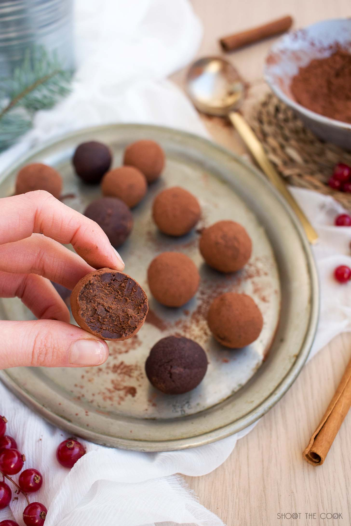 trufas saludables
